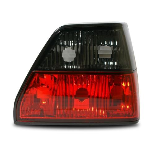 Rückleuchten, Klarglas, schwarz/rot passend für VW Golf 2 Bj. 83-91