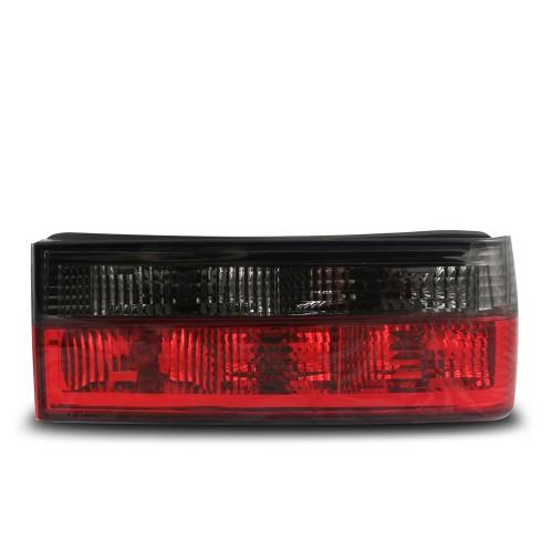 Rückleuchten Kristallglas schwarz-rot passend für BMW E30 Bj. 1982-1987 und Cabrio Bj. 1982-06.1990