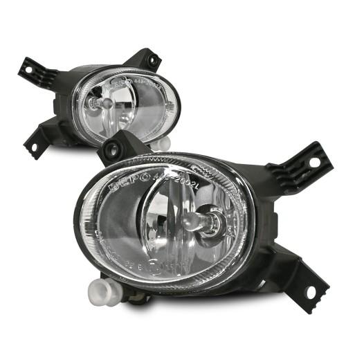 Nebelscheinwerfer, Audi, passend für Stoßstange 8L0807103CS+S, Klarglas / chrom