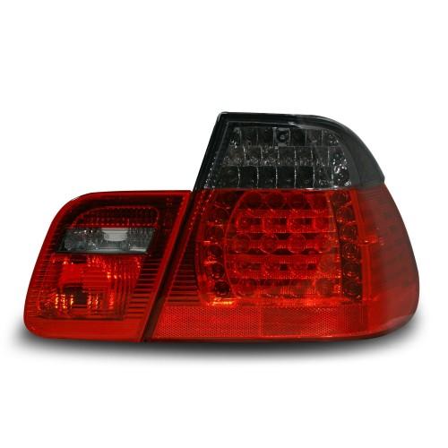 LED Rückleuchten schwarz-rot passend für BMW E46 Limousine Bj. 05.98-09.01