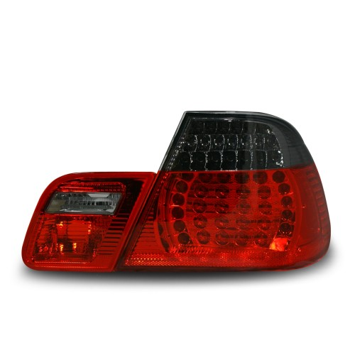 LED Rear lights black-red suitable for BMW E46 Coupe year 99-02