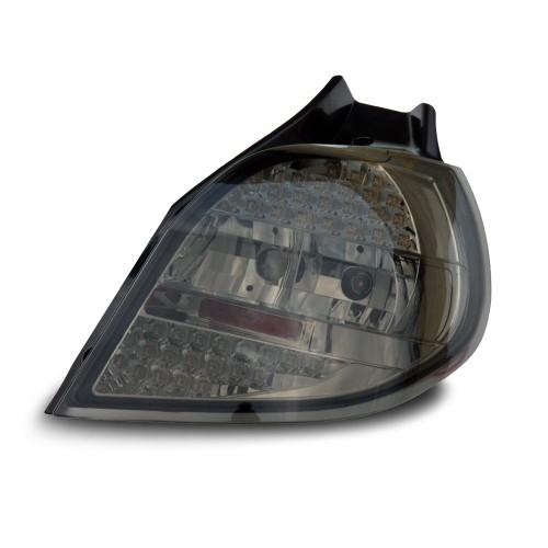LED Rückleuchten Klarglas schwarz passend für Renault Clio ab Bj. 2005-