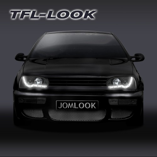 DRL Design Headlights suitable for VW Golf 3 year 92-97