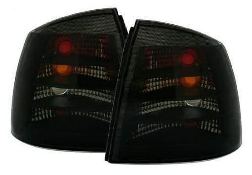 Rückleuchtensatz, Heckleuchtensatz schwarz Klarglas passend für Opel Astra G CC, 3 + 5 Türer (Fließheck), Bj. 09/1998 - 10/2005