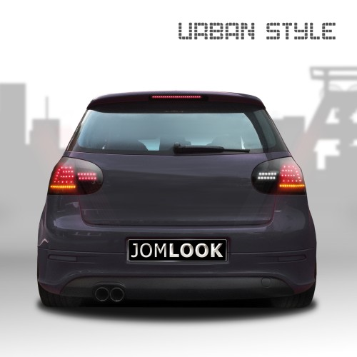 UrbanStyle Full-LED Rückleuchten schwarz passend für VW Golf 5 Bj. 03-08