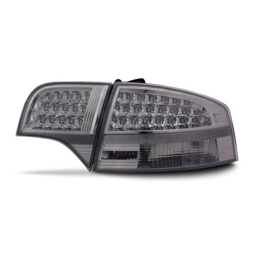 LED rear lights clear glass smoke suitable for Audi A4 B7 Limousine year 04-08