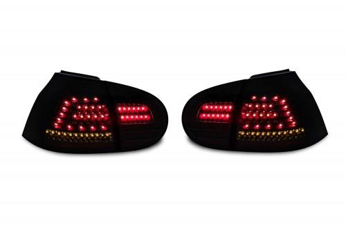 UrbanStyle Full-LED Rückleuchten komplett schwarz passend für VW Golf 5 Bj. 03-08
