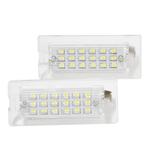 JOM Feu éclaireur de plaque d'immatriculation LED 18 SMD, certifié type E