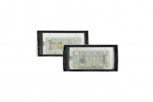 Licence plate LEDs, 2 pieces, E46 2 doors 98-03