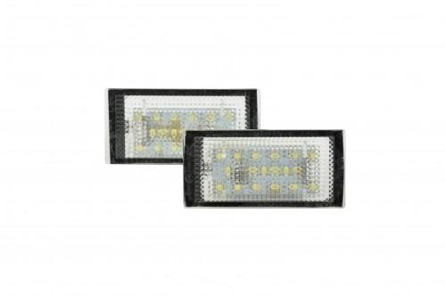 LED Kennzeichenbeleuchtung, 3 SMD LED, 2 St., mit E-Prüfzeichen passend für E46 2 Türig Bj. 98-03