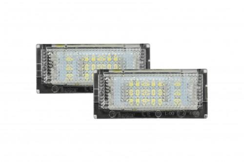 LED Kennzeichenbeleuchtung, 2 St., mit E-Prüfzeichen passend für E46 4 Türig Bj. 98-03