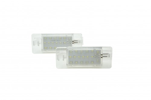 Licence plate LEDs, 2 pieces, Opel Vectra C 02-08