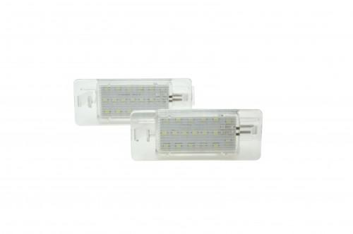 LED Kennzeichen Beleuchtung, Power-LEDs, inkl. E-Prüfzeichen passend für Opel Vectra C 02-08