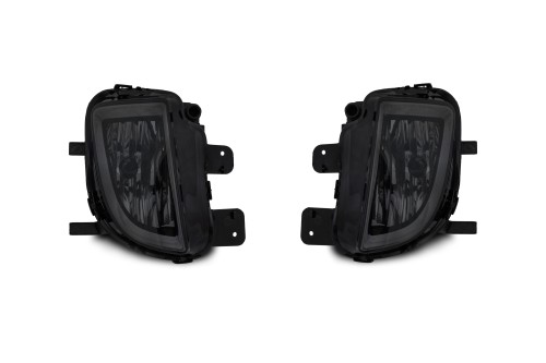 Fog lights smoke-glass suitable for VW Golf 6 GTI (5K1) year 2009-2013