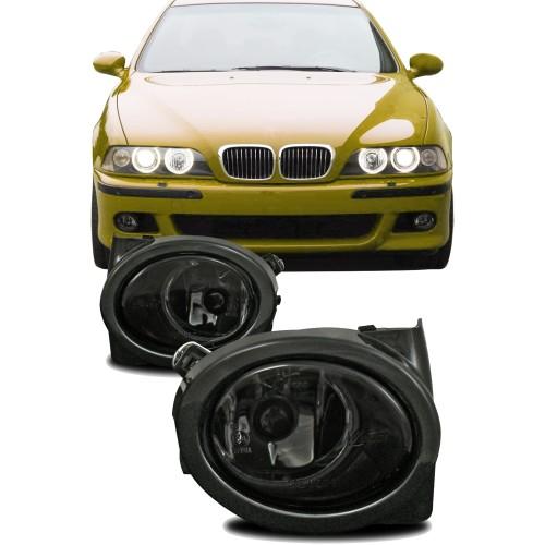 Nebelscheinwerfer Smokeglas mit Rahmen passend für BMW E46 M3 Baujahr 1998- 2007 und E39 M5 Baujahr 1998-2005