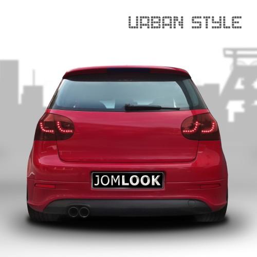 Rückleuchten,Heckleuchte Urban Style,LED, inkl. LED Blinker/Bremslicht, cherry,rot passend für VW Golf 5 03-