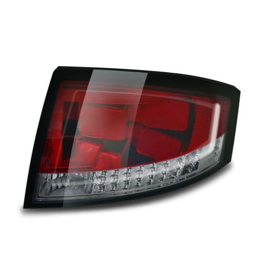 Lightbar Style Rückleuchten mit LED Blinker schwarz passend für Audi TT 8N Bj. 98-06