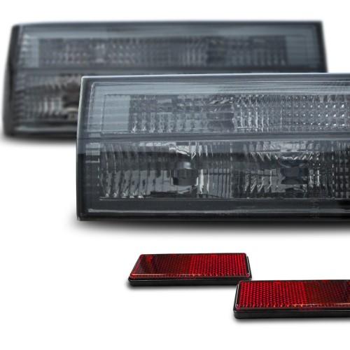 Rückleuchten Kristallglas smoke passend für BMW 3er E30 83-87 und Cabrio 82- 06.90