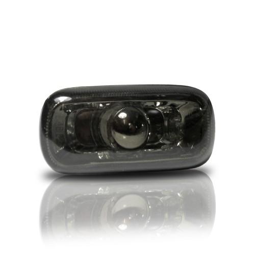 Seitenblinkleuchten, Klar/smoke passend für Audi A3 8P 5/03-7/08, A4 8E 11/00-12/04, A4 B7 11/04-6/08, A6 4F 1/05-