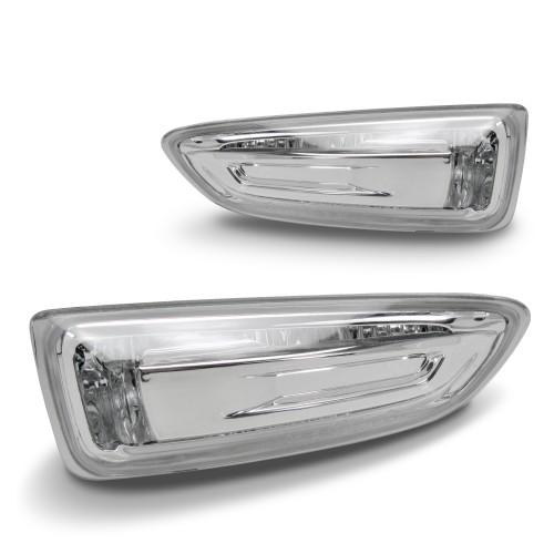 Seitenblinkleuchten, Klarglas/Chrom passend für Opel Astra J, nicht passend für GTC