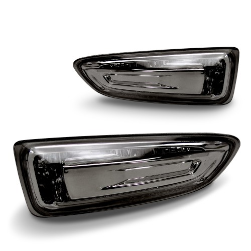 Seitenblinkleuchten, Klarglas/Smoke passend für Opel Astra J, nicht passend für GTC