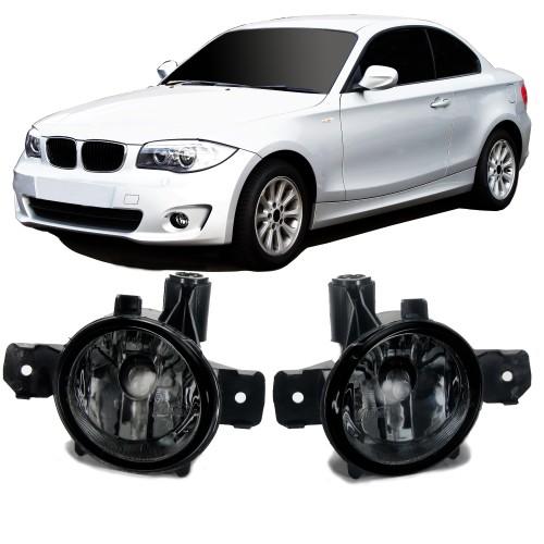 Nebelscheinwerfer, Nebelscheinwerfersatz, Klarglas, Schwarz passend für BMW E70/ E81/ E82/ E83/ E84/ E87/ E88,