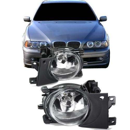 fog lights clear suitable for BMW 5er E39 Facelift year 1996-2004