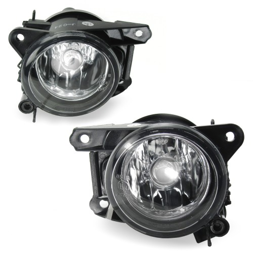 Nebelscheinwerfer,Nebelscheinwerfersatz inkl. Leuchtmittel H7, klar passend für VW Polo 6N2, Bj. 1999-2001