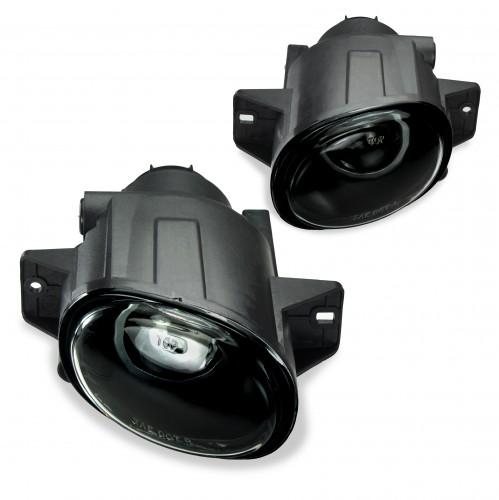 Nebelscheinwerfer Set, Nebelscheinwerfersatz  inkl. Leuchtmittel , Klarglas, Smoke passend für Seat Leon, Bj. 1999-2006, Seat Toledo, Bj. 1999-2006