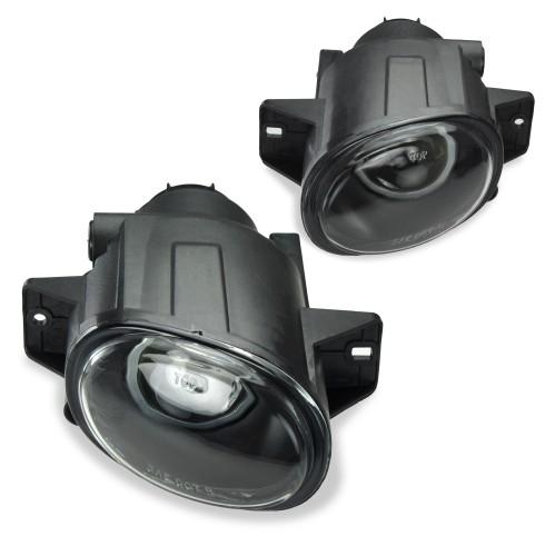 Nebelscheinwerfer Set, Nebelscheinwerfersatz  inkl. Leuchtmittel H3, Klarglas passend für  Seat Leon, Bj. 1999-2006,  Seat Toledo, Bj. 1999-2006