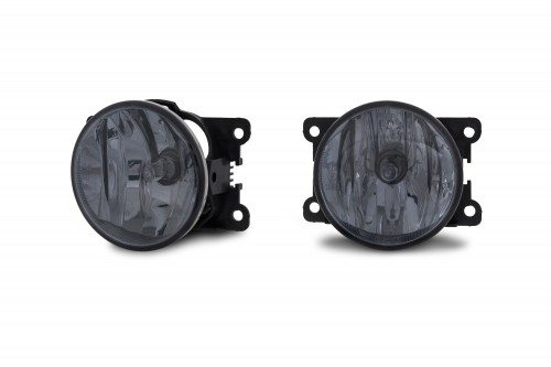 Nebelscheinwerfer Smokeglas passend für Citroen C3 Picasso Bj.09-13, C4 Cactus ab Bj.14-, Peugeot 208 Bj. ab 12, Peugeot 2008 Bj. ab 13