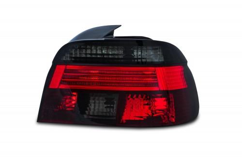 Feux arrière BMW série 5 E39 (seulement berline), 11/95-8/00, rouge/noir