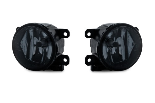 Fog lights smoke suitable for Peugeot 108 year 14-16, 301 year 12-16, 308(T9) year 13-16, Partner(B9) year 08-16, Citroen C1 (B4) year 14-16, C4 (B7) year 09-16, E-Elyssee year 12-14, Berlingo (B9) Bj. 08-16, DS4 year 11-15, Citroen Ds5 year 11-, Citroen