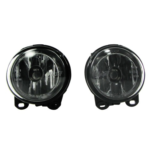 Fog lights clear suitable for BMW 5 series F10 and F11 year 2010-, 2 series F22 and F23 year 2013-, 3 series E92 and E93 year 2005-2013, and 5 series Gran Turismo (F07) year 2009-