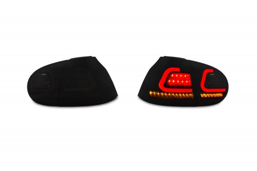 LED Lightbar rear lights with dynamic sequence indicators suitable for VW Golf 5 year 03-08