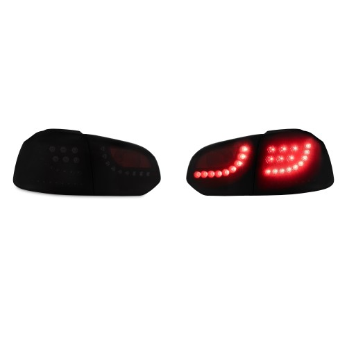 New Design LED rear lights black with dynamic indicator suitable for VW Golf 6 year 08-12