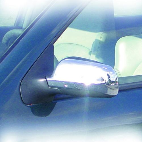 Spiegelabdeckung chrom passend für VW Golf 3 Cabrio, Golf 4, Bora, Passat ab Bj. 1997-, Polo ab Bj. 1999-, Seat Leon ab Bj. 1999-, Ibiza, Cordoba und Toledo