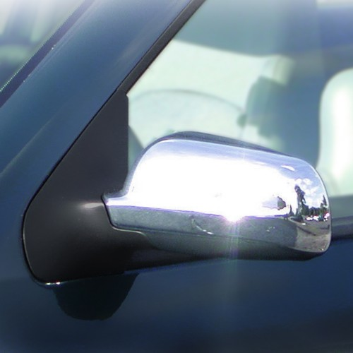 Mirror covers, chrome suitable for VW Golf 5
