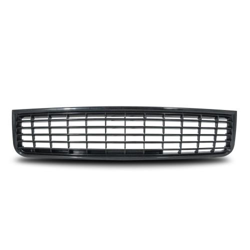 Calandre, compatible avec  Audi A4 8E 10/00- , sans sigle, noire