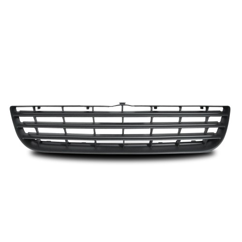 Front Grill badgeless, black suitable for VW Polo 9N3 year 2005 - 2009