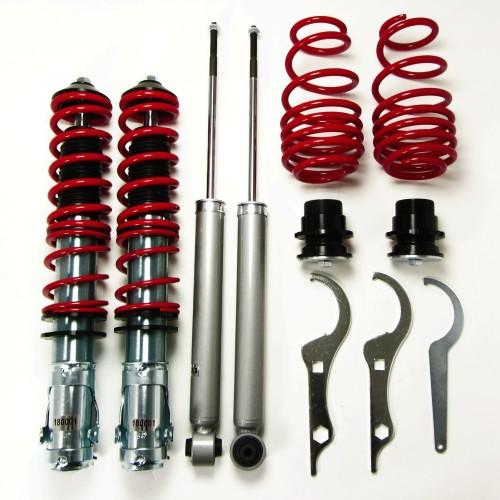 RedLine Gewindefahrwerk passend für VW Lupo ( 6X ) 1.0, 1.4, 1.4 16V, 1.6GTi, 1.4TDi, 1.7SDi ab Baujahr 1999 - 2005, nicht geeignet für 1.2TDi 3L