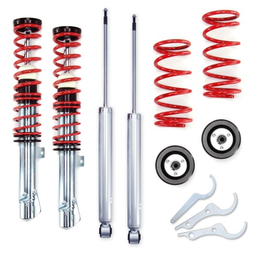 RedLine Coilover Kit suitable for Ford Focus (Mk1) 1.4, 1.6, 1.8, 2.0, 1.8TD / TDdi / TDCi year 1998 - 2004, except 2.0 RS and Turnier