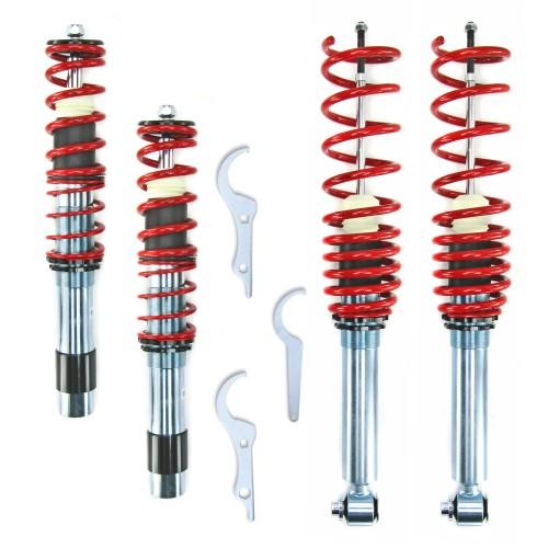 RedLine Gewindefahrwerk passend für BMW 5er E39 520i, 523i, 525i, 528i, 530i, 520D, 525D / TD / TDS, 530D Baujahr 1995 - 2003