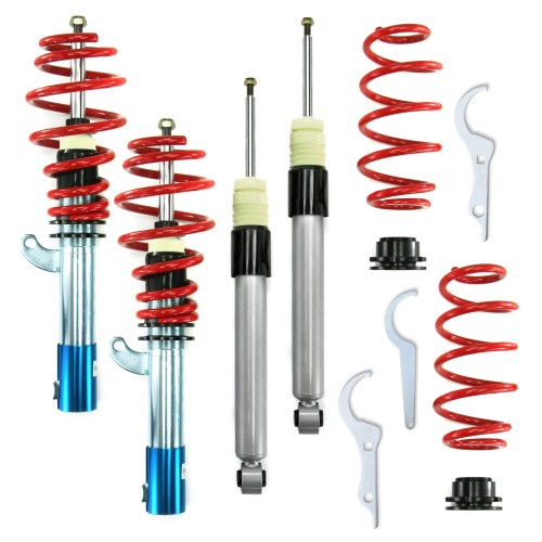 RedLine Coilover Kit suitable for Seat Leon 1P 1.4, 1.6, 2.0, 2.0T / DSG, 1.9TDi year 2005 -,  except vehicles with four-wheel drive