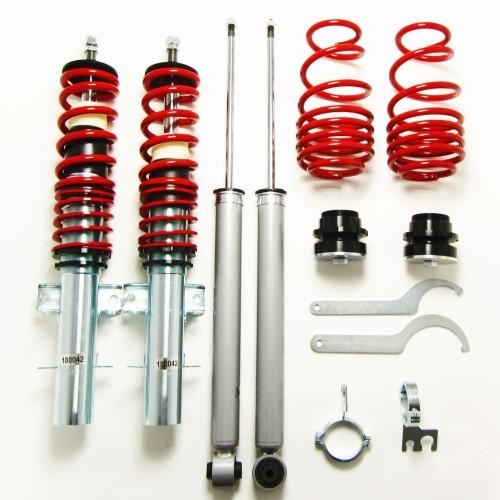 RedLine Gewindefahrwerk passend für Seat Ibiza Typ 6J 1.2, 1.4, 1.6, 1.4 TDi, 1.6TDi, 1.9TDi Baujahr 2008 - 2017