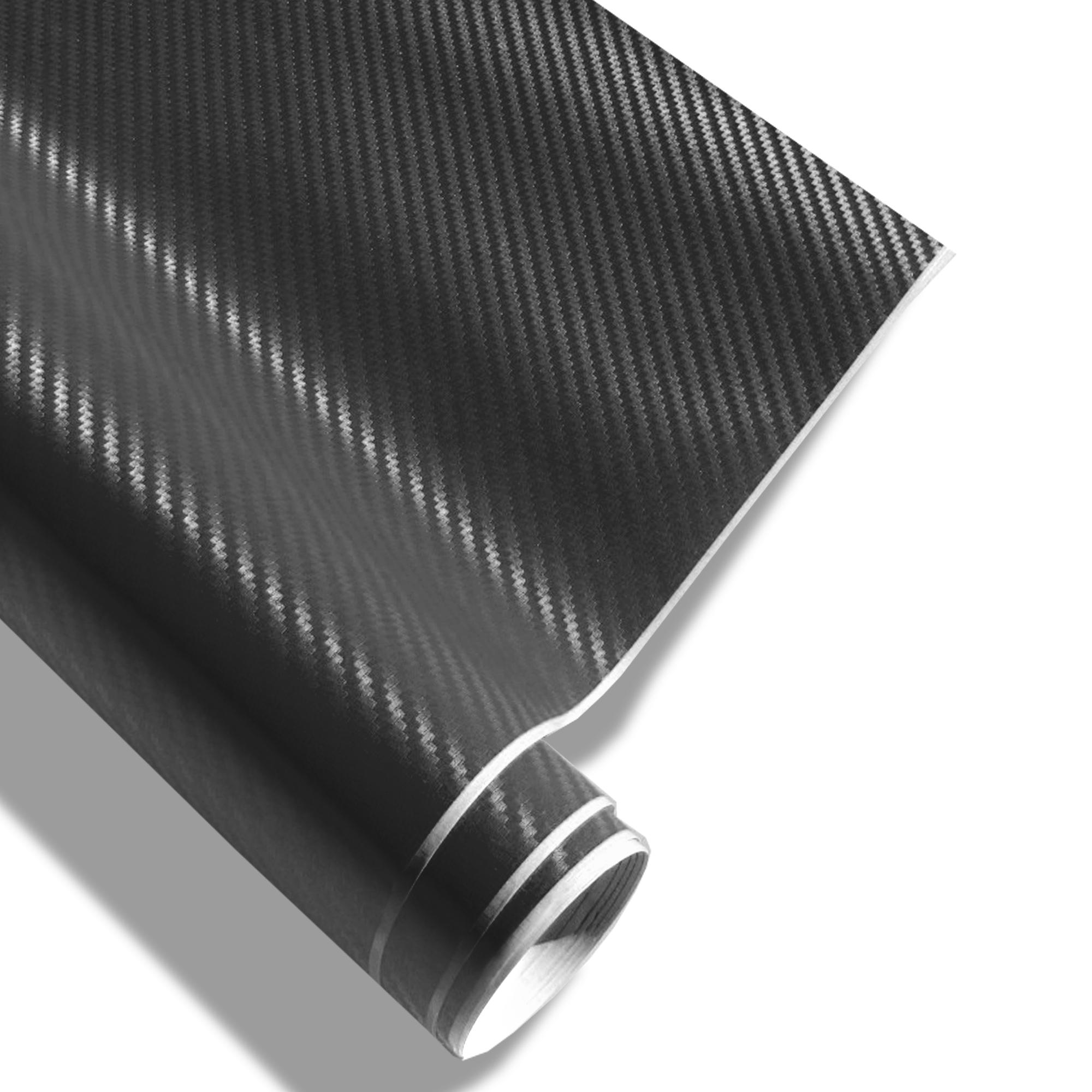 carbonfolie jom schwarz xxl 152 x 200 cm 3d struktur geeignet f r innen u au en. Black Bedroom Furniture Sets. Home Design Ideas