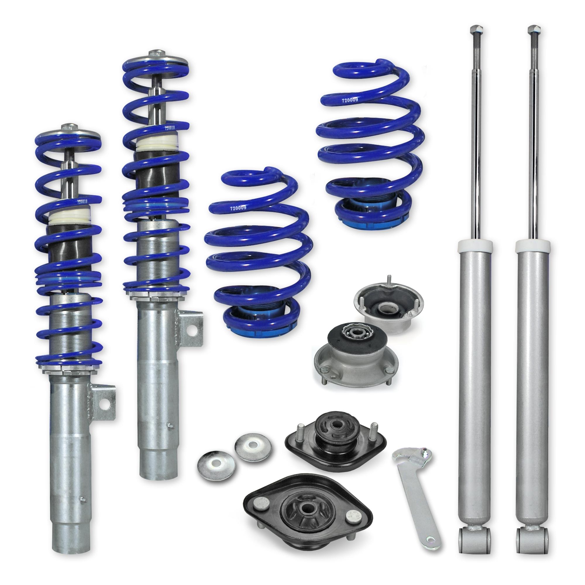 kit suspension combin filet jom blueline bmw e46 4 6 cyl incl touring 98 05 filet. Black Bedroom Furniture Sets. Home Design Ideas