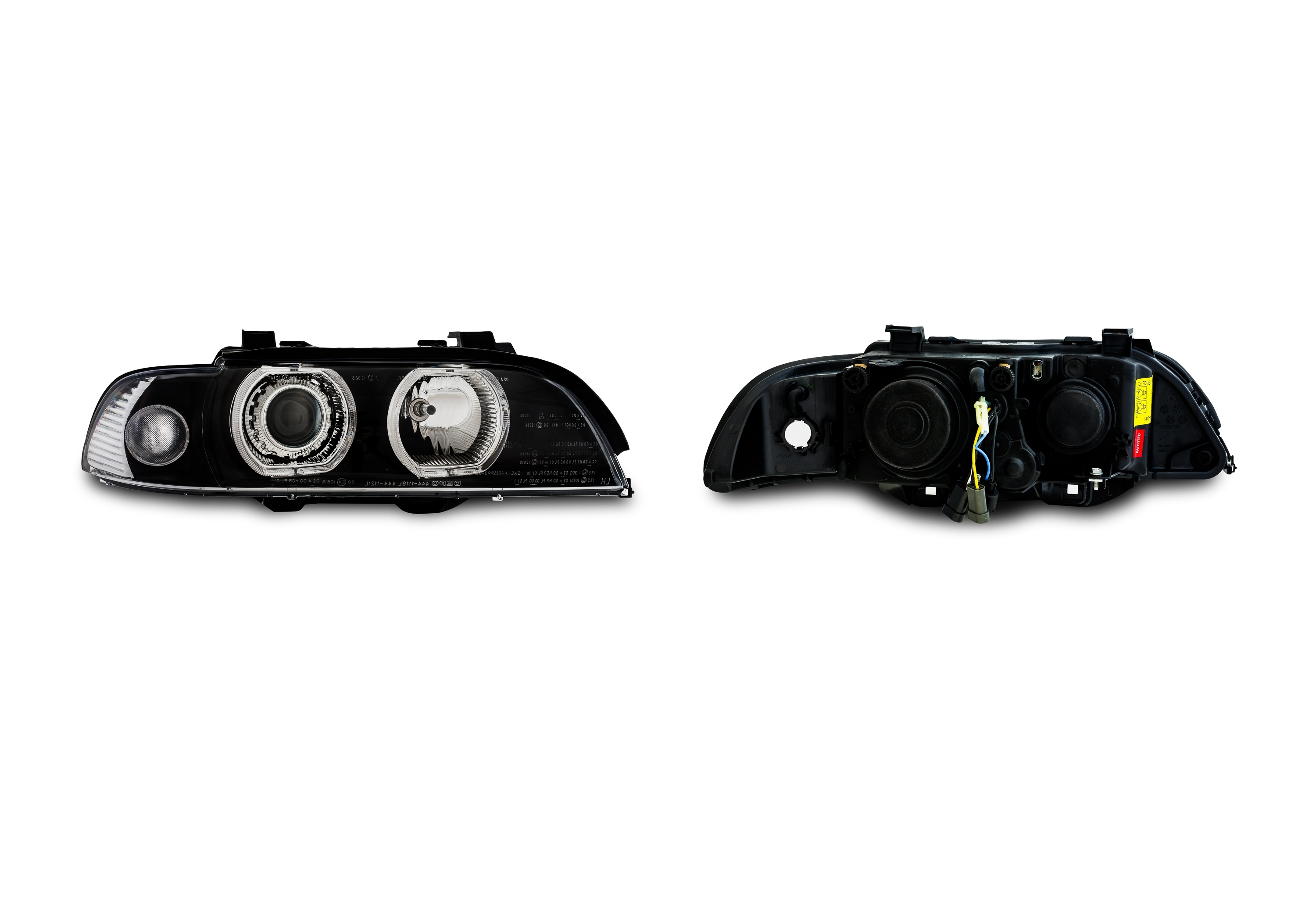 Ae Design Headlights With Led Rings Suitable For Bmw 5 Series E39 Year 0995 800