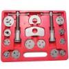 Bremskolbenrücksteller / Kolbenrücksteller, 22-Teilig mit linksdrehender und rechtsdrehender Spindel, im Kunstoffkoffer