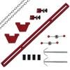 Motorbrücke Motorträger Kotflügeltraverse Getriebe Motorhalter bis 500 kg rot
